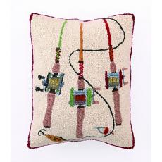 Fishing Rods Hook Pillow
