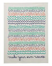 Making Waves Kitchen Towel