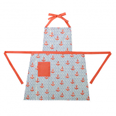 Anchors and Dots Apron