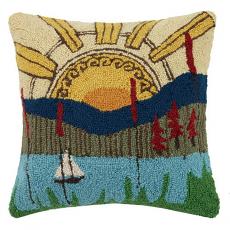 Wonderful World Hook Pillow
