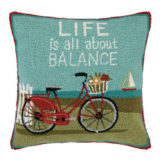 Life Is All About Balance Hook Pillow