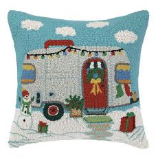Christmas Trailer Hook Pillow