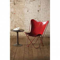 Iron Butterfly Chair - Red