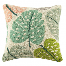 Split Leaf Hook Pillow
