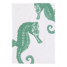Seahorse Flour Sack Kitchen Towel