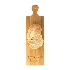 Personalized Acacia Bread Serving Board