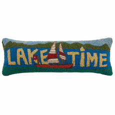 Lake Time Hook Pillow