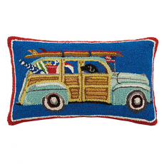 Station Wagon Hook Pillow