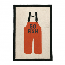 Go Fish Hook Rug