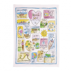 Beach Love Kitchen Towel