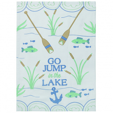 Go Jump in the Lake Kitchen Towel