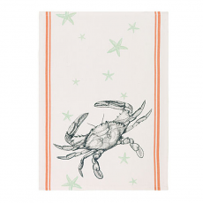 Crab and Starfish Kitchen Towel