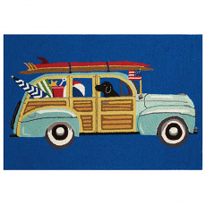 Station Wagon Hook Rug