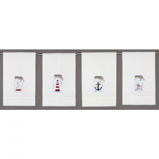 Nautical Mason Jar Guest Towels (Set Of 4)