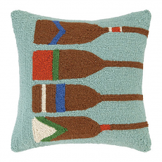 Four Oars Hook Pillow