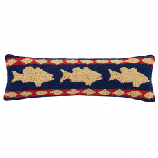 Bass Lodge Hook Pillow