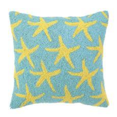 Yellow Starfish Hook Pillow