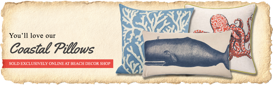 Coastal Pillows You'll Love