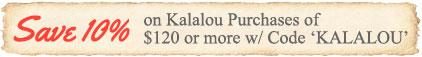 Save on Kalalou