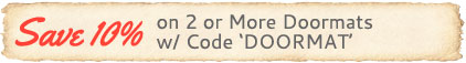 Buy 2 Doormats & Save 10% on Doormats