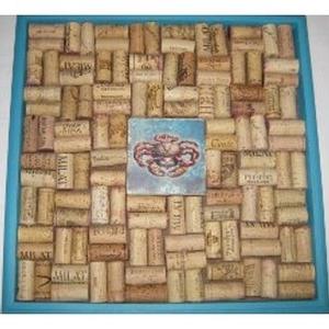 Crab Tile Ii Cork Bulletin Board Craft Kit