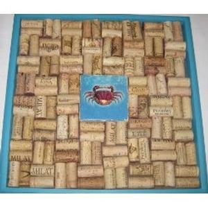 Crab Tile I Cork Board Craft Kit