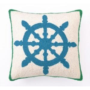 Captain'S Wheel Hook Pillow