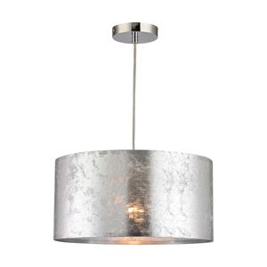Boulevard 1 Light Pendant In Silver