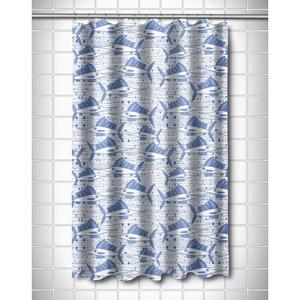 Sailfish School Blue Shower Curtain