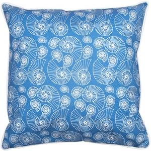 Nautilus Outline Pillow