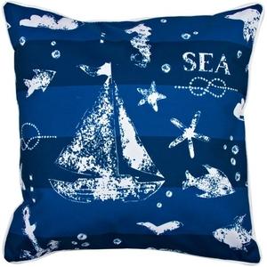 Blue Sea Mix Pillow