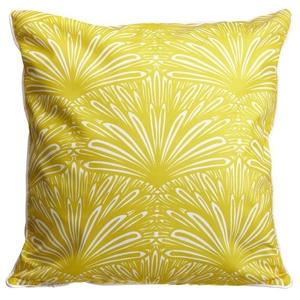 Art Deco Goldenrod Pillow