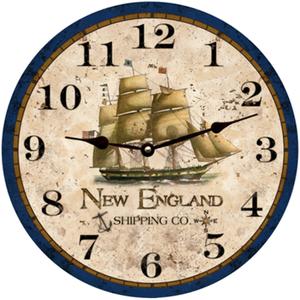 New England Shipping Company Clock