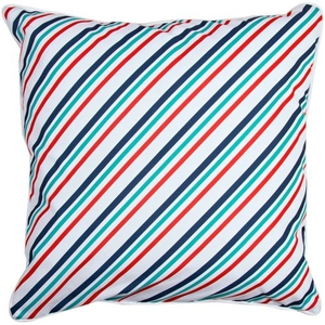 Sanibel - Starfish and Stripes Pillow