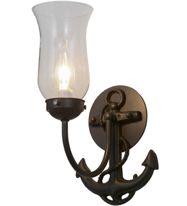 "6""W Nautical Anchor Wall Sconce"