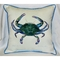 Male Blue Crab Outdoor Pillow
