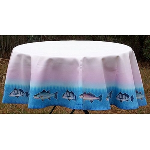 School Of Fish  Round Table Cloth