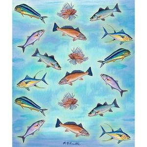 School Of Fish Throw