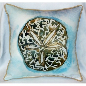 Sand Dollar Outdoor Pillow