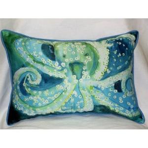 Octopus Indoor Outdoor Pillow