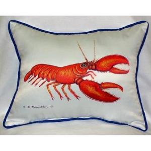 Red Lobster Indoor Outdoor Pillow