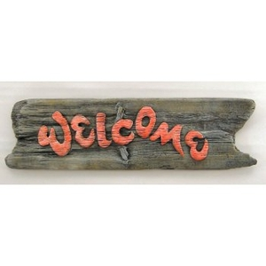 Welcome Driftwood Sign