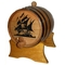 Pirate Ship Oak Barrel