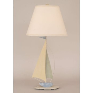 Mini Iron Sailboat Table Lamp