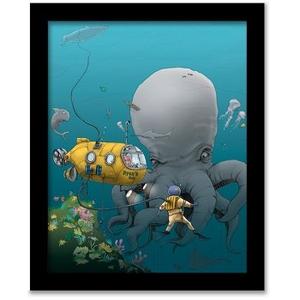Personalized Underwater Adventure -Art