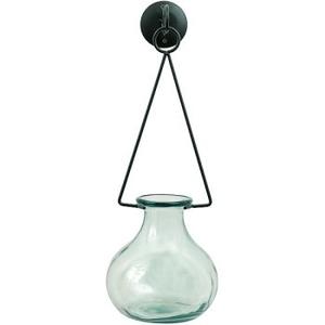 Gourd Vase & Metal Hanger