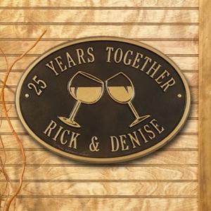 Personalized Couples Plaque