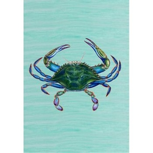Male Blue Crab Designer Flag