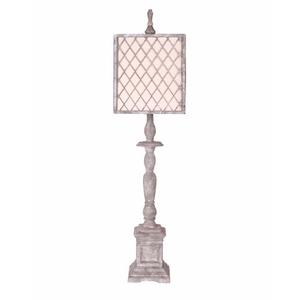 Scarborough Light Grey Table Lamp