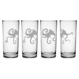 Kraken Hiball Glass Set Of 4